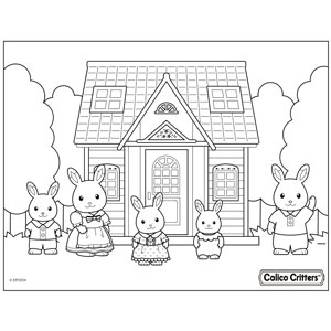 Calico Critters Coloring