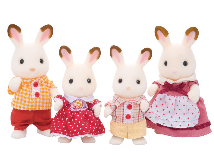 Hopscotch Rabbit Family - 7