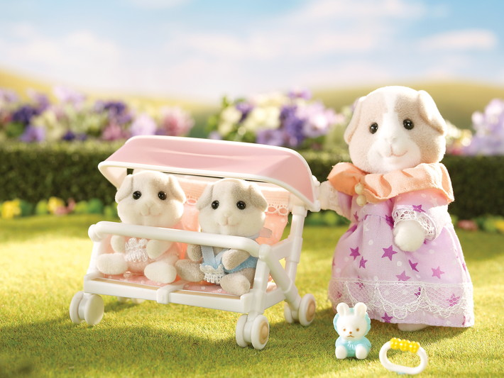 Patty and Paden's Double Stroller Set - 5