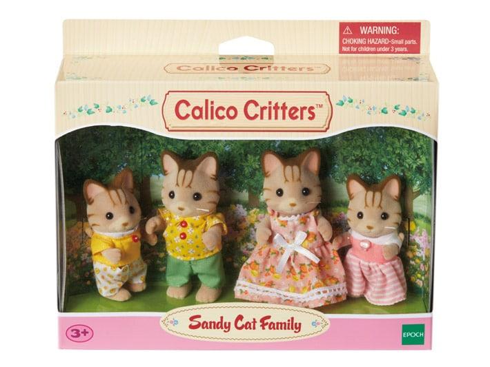 Sandy Cat Family - 4