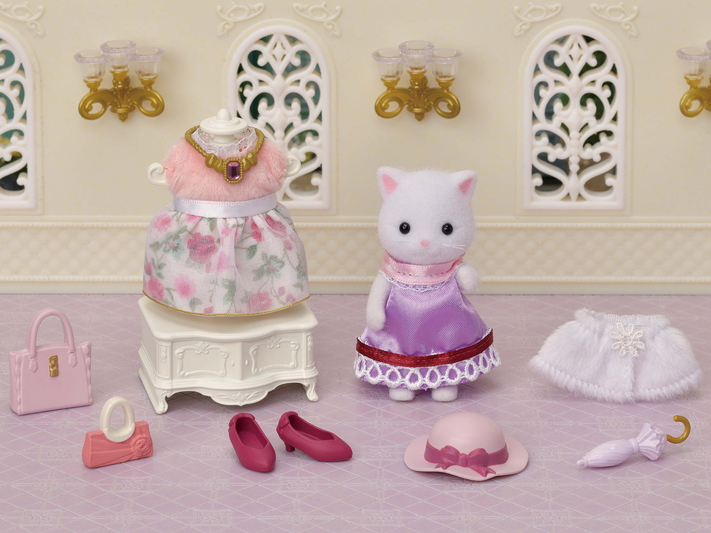 Fashion Play Set Town Girl Series - Persian Cat- - 10