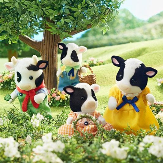 Friesian Cow Family - 3
