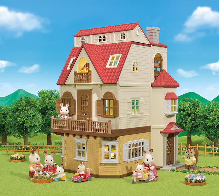Red Roof Country Home Series1