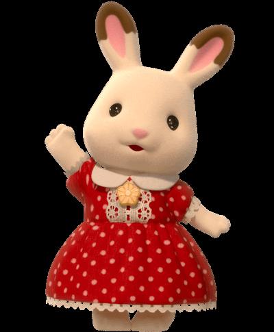 Hopscotch Rabbit Sister