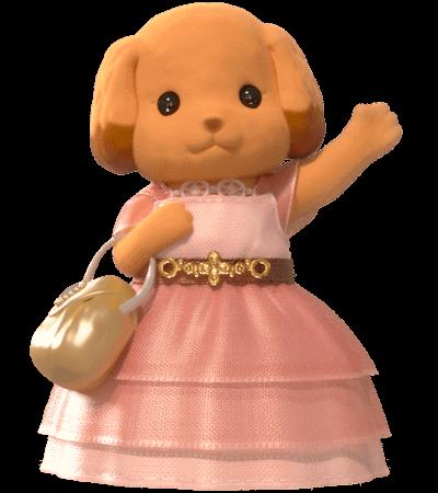 Toy Poodle older sister