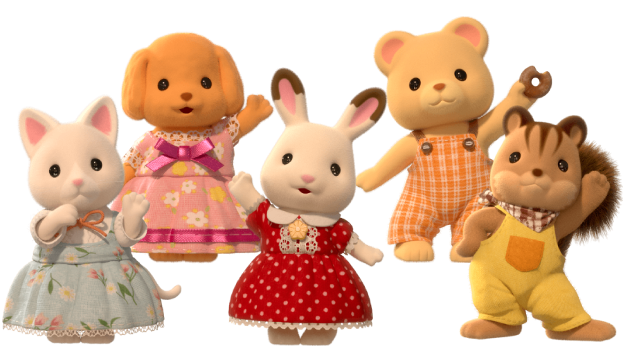 You can meet the friends from Calico Critters on Netflix!