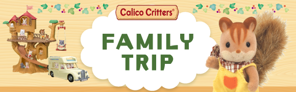 Calico Critters FAMILY TRIP